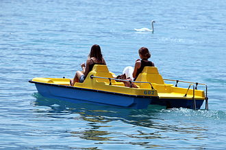 Pedalo - A pedalo on Lake Geneva