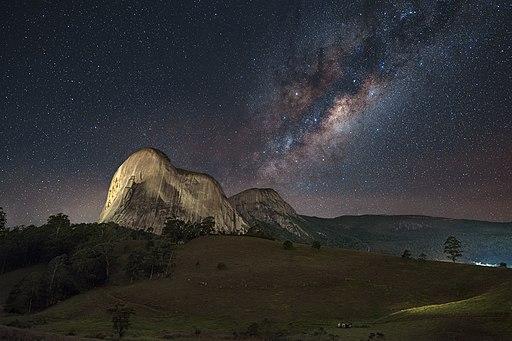 Pedra Azul Milky Way