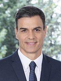 Pedro Sánchez Pérez-Castejón - 2018 - (Oficial) 3.4 (cropped).jpg