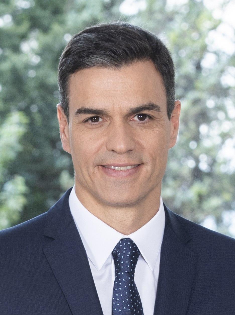 Pedro Sánchez Pérez-Castejón - 2018 - (Oficial) 3.4 (cropped)