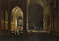 Peeter Neeffs (I) and Bonaventura Peeters (I) - An Evening Service in a Church.jpg