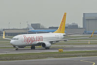 TC-AAU - B738 - Pegasus Airlines