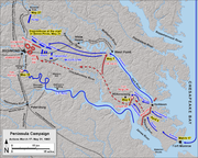 Peninsula Campaign March 17 - May 31, 1862