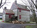 Pennsylvania Log Farmhouse, Ulster American Folkpark - geograph.org.uk - 289295.jpg