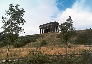 Lambton Worm - Penshaw Monument, from the south