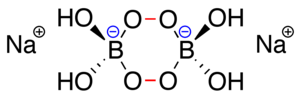 Sodium perborate - Image: Perborate dimer