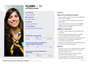 Personas for Wikimedia Movement Organizers Study es.pdf