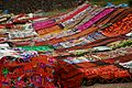 Peru - Cusco Sacred Valley & Incan Ruins 039 - textile handcrafts for sale at Tambomachay (7092596219).jpg