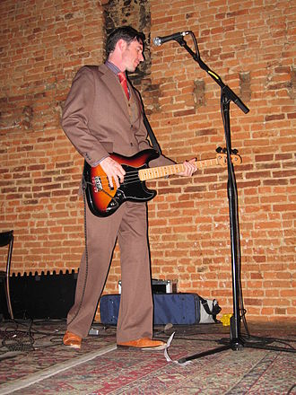 The Mountain Goats - Peter Hughes in 2007
