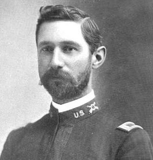 Peyton C. March - March as a First Lieutenant in 1898.