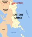 Ph locator eastern samar arteche.png