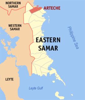Arteche Municipality in Eastern Visayas, Philippines