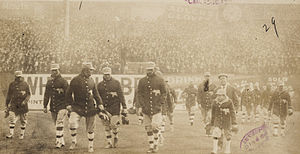 1911 Philadelphia Athletics season - Philadelphia Athletics on field at the Polo Grounds, 1911 World Series