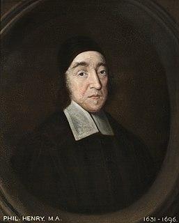 Philip Henry English Nonconformist clergyman and diarist