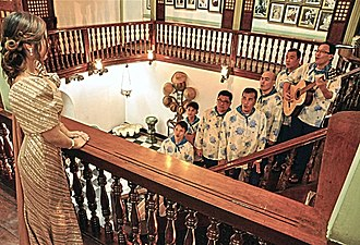 Philippine folk music - Harana band a traditional way of serenade in the Philippines.
