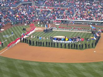 2011 Philadelphia Phillies season - Image: Phillies Opening Day