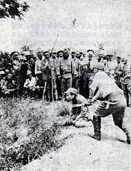 Japanese War Crimes Against Chinese POWs In Nanjing C 1937