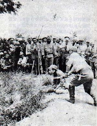 Bushido - Japanese war crimes against Chinese POWs in Nanjing, c. 1937