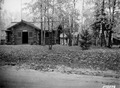Photograph of Dora Lake Ranger Station, Garage and Dwelling - NARA - 2128219.tif