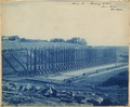 "Photograph with caption ""Lock 2, Forming N. Wall, June 19, (18)95). - NARA - 282349.tif"