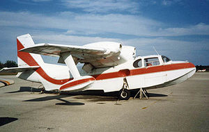Piaggio P.136 - Piaggio P.136L-2 at Tamiami Airport near Miami in 1989