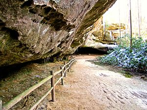 Pickett County, Tennessee - Hazard Cave at Pickett State Park