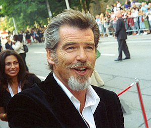 Pierce Brosnan at the 2005 Toronto Film Festival