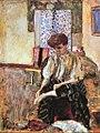 Pierre Bonnard Woman Putting on Her Stockings 2.jpg
