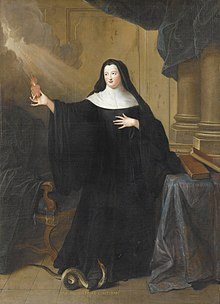 "Pierre Gobert portrait of Louise Adélaïde d'Orléans (1698–1743) Abbess of Chelles as ""Sœur Sainte-Bathilde"".Jpeg"