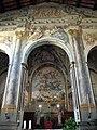 Pieve di marti, interno, presbiterio 02 affreschi di anton domenico bamberini 0.JPG