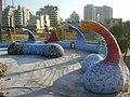 PikiWiki Israel 15844 Sculpture by Ruslan Sergeev in Netanya Promenade.JPG