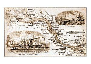Unterelbe - Chart 1860
