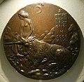 Pisanello, medaglia di cecilia gonzaga, retro con vergine e unicorno, 1447, 02.jpg