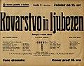 Plakat za predstavo Kovarstvo in ljubezen v Narodnem gledališču v Mariboru 31. marca 1940.jpg
