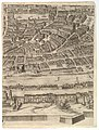 Plan of the City of Rome. Part 9 with Piazza Navona, the Campo di Fiore and the Sant' Onofrio (left bank) MET DP826511.jpg