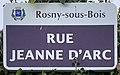 Plaque Rue Jeanne Arc - Rosny-sous-Bois (FR93) - 2021-04-15 - 1.jpg
