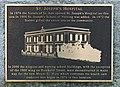 Plaque by St. Joseph's Hospital, Victoria, British Columbia, Canada 25.jpg