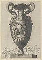 Plate 2- Two-handled vase with a nude figure on a pedestal at center, from Antique Vases ('Vasa a Polydoro Caravagino') MET DP837051.jpg