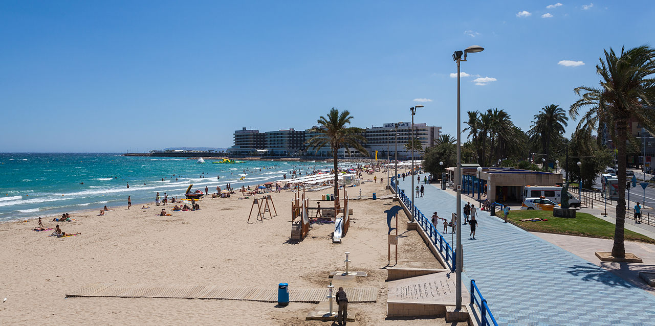 Beach Alicante City