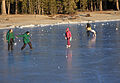 Playing on frozen Tenaya Lake.jpg