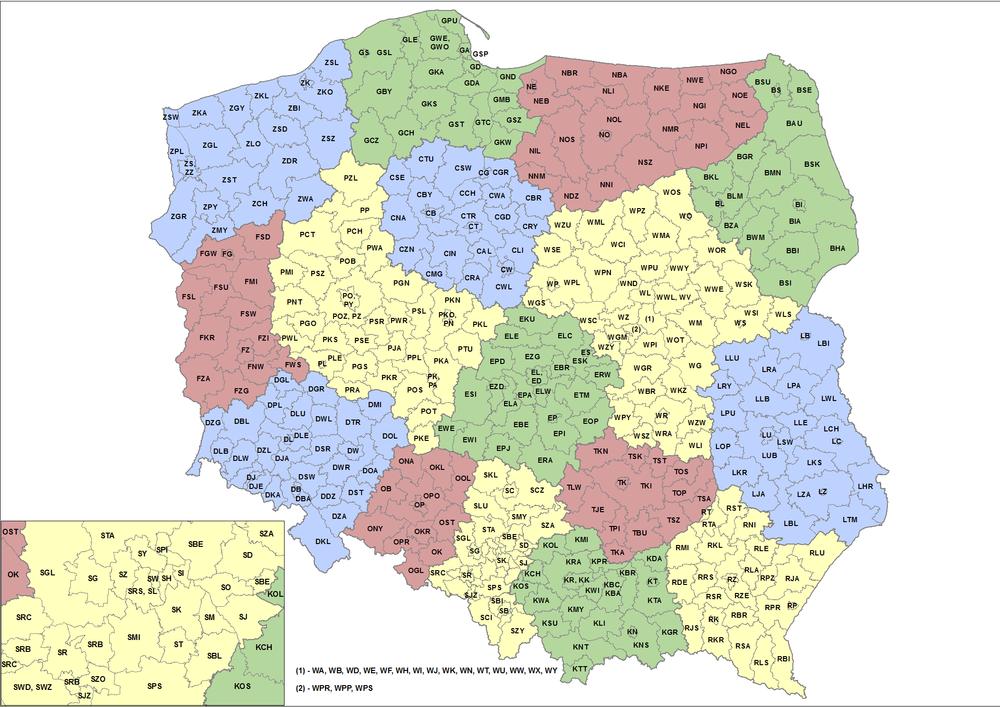 Vehicle registration plates of Poland - Wikipedia