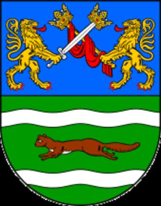 Požega-Slavonia County - Image: Požega Slavonia County coat of arms
