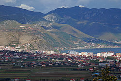 Pogradec from South.jpg