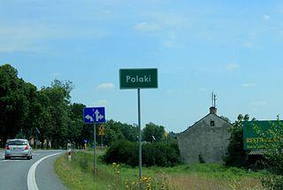 Polaki, Poland Village in Masovian, Poland