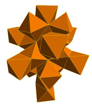 Net (polyhedron) - Image: Polychoron 24 cell net