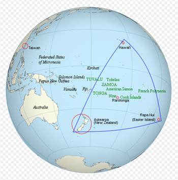 Location of Polynesian Leaders Group