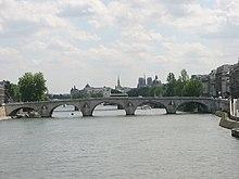Anse de panier wikip dia - Le pont de lamour a paris ...