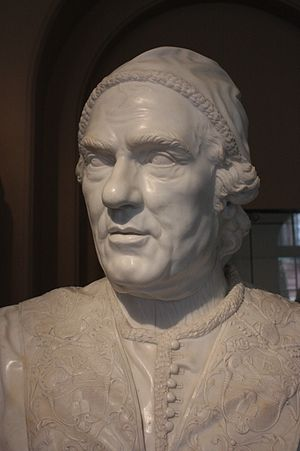 Christopher Hewetson - Pope Clement XIV by Christopher Hewetson, 1773, Victoria and Albert Museum