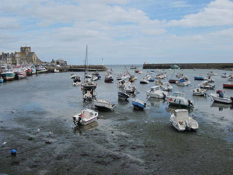 Port de Barfleur à marée basse