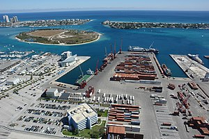 Port of Palm Beach - Image: Port of palm beach harbour